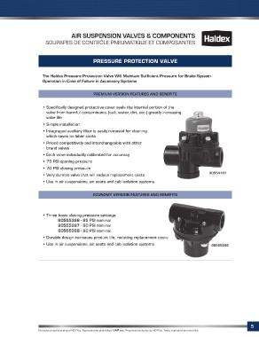 Page 7 - Suspension Air Control Catalog - Catalogue controle
